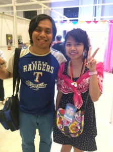 w/ Kaila Ocampo, one of the founders of Kawaii in Manila