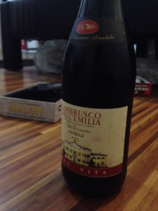Thanks Kenwin and Lance for the wine. Nag-improve na! Dati Red Horse lang kaya e lol