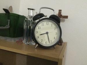 Thanks Jonna for the alarm clock hehe