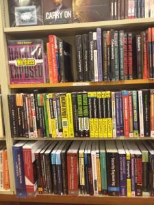 Infosec books at Kinokuniya